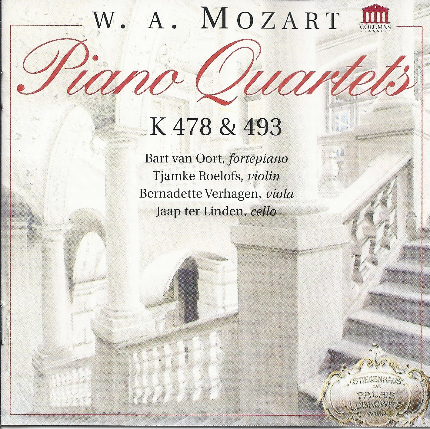Mozart Piano Quartets