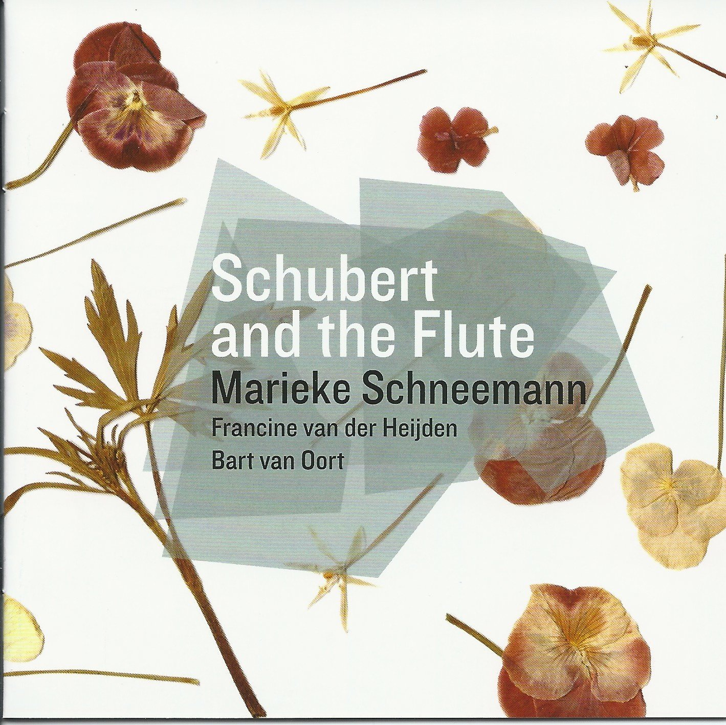 Franz Schubert: Works for flute and piano