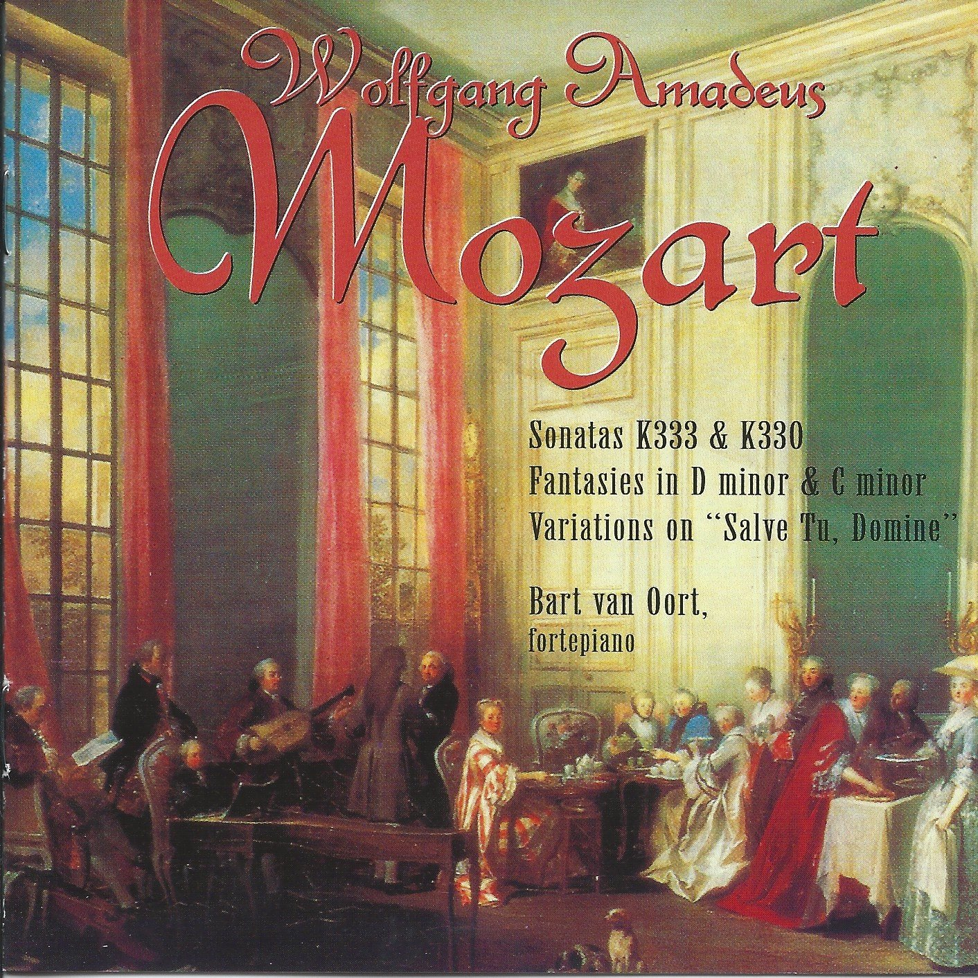 WA Mozart: Sonatas, Fantasy and Adagio