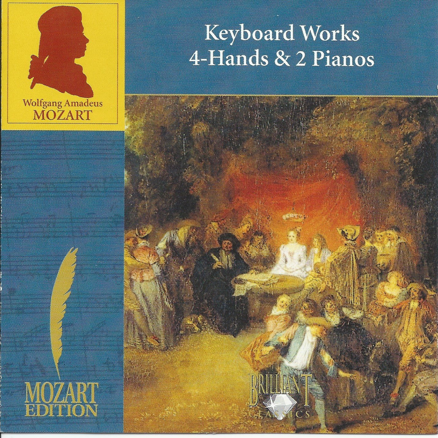 WA Mozart: Keyboard Works 4-Hands and Two Pianos