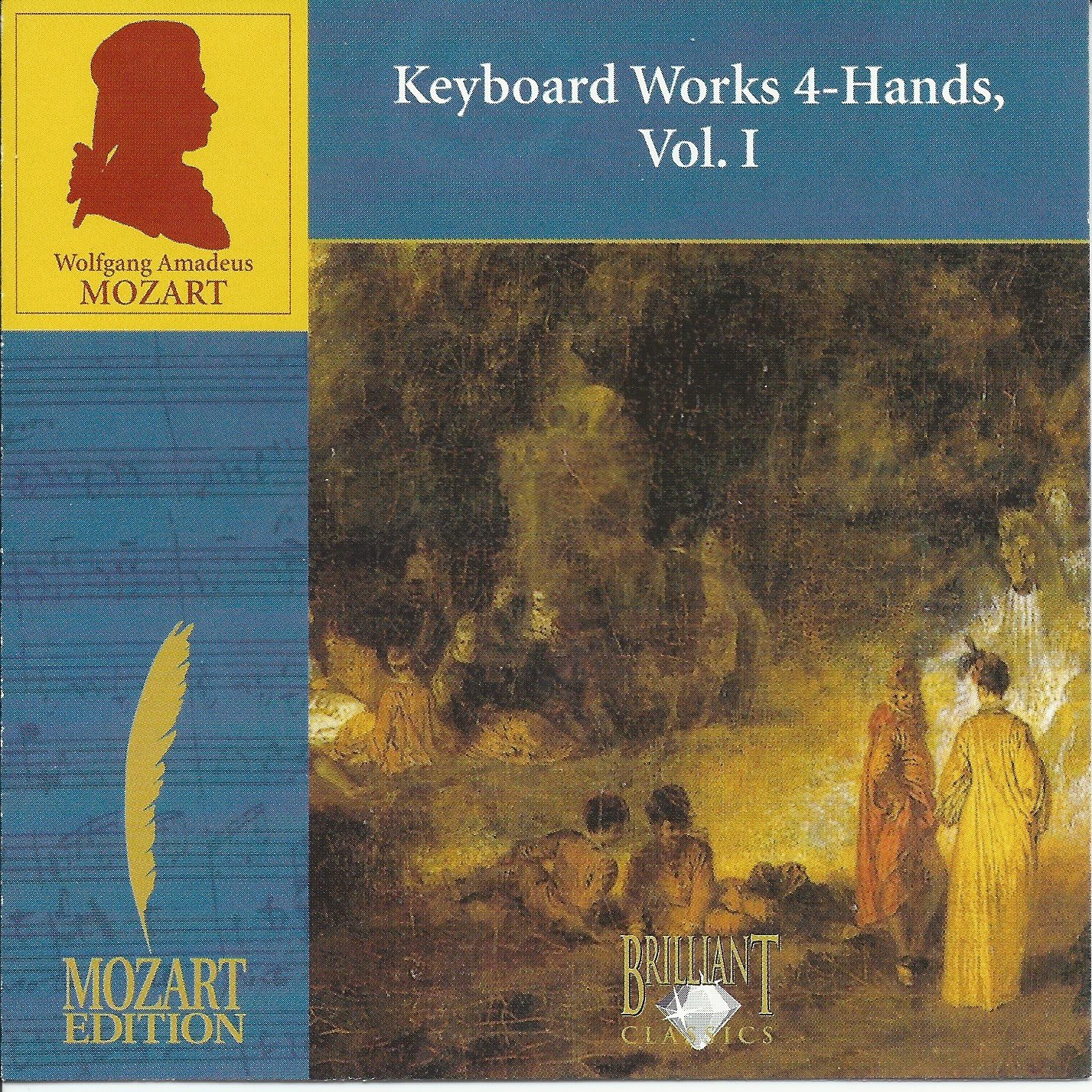 WA Mozart: Keyboard Works 4-Hands, Vol. I