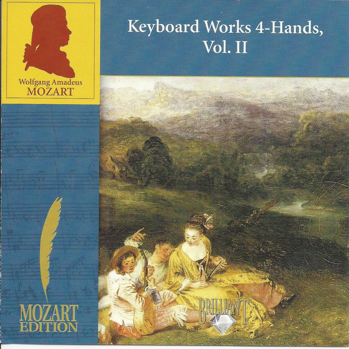 WA Mozart: Keyboard Works 4-Hands, Vol. II